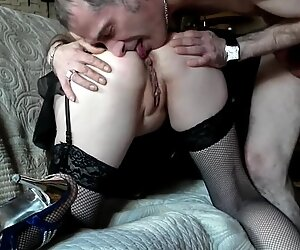 Sunday morning vaginal and anal doggy