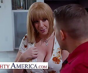 Naughty America - Sara Jay prefers young men and their hard dicks