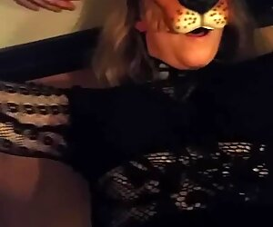 Swedish liongirl shaves her hairy pussy