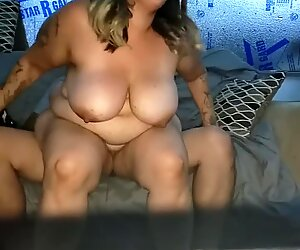 cool BBW Latina deepthroating boinking and gets Creampied